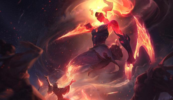 League of Legends Akali infernal