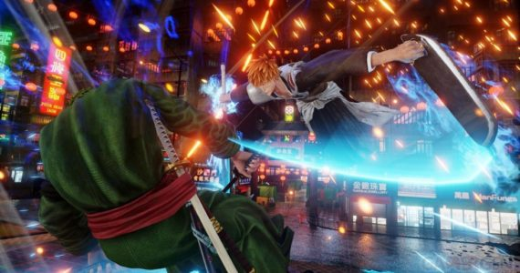 Jump Force ichigo vs Zoro