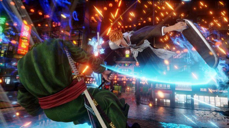 Jump Force ichigo vs Zoro
