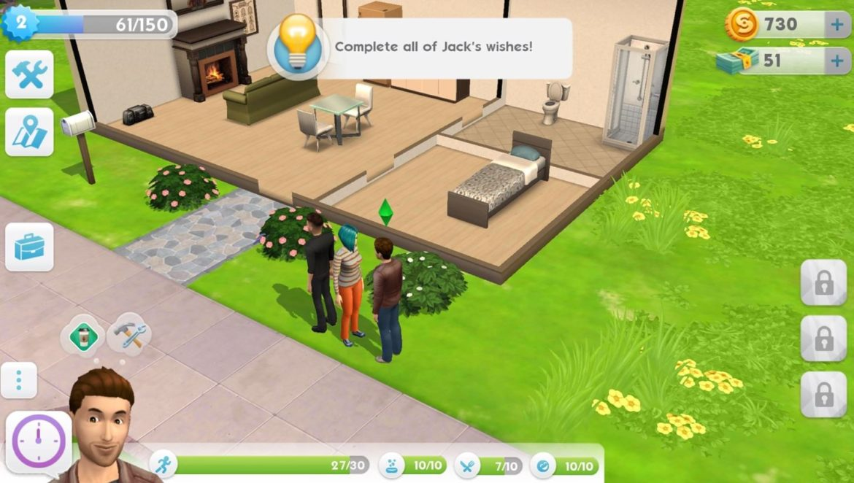 Les Sims Mobile missions