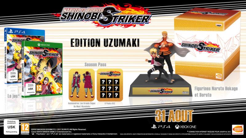 Naruto to Boruto: Shinobi Striker - le pack collector