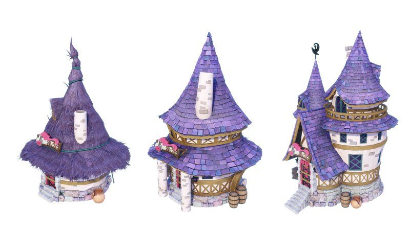 Nelke & the Legendary Alchemists: Ateliers of the New World évolution batiment