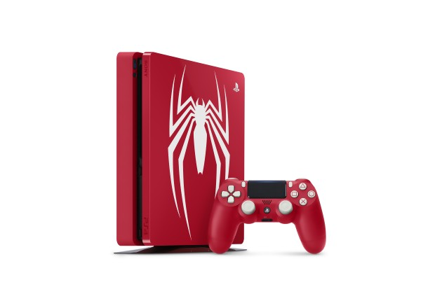 Spider-Man PlayStation 4 Pro pad console
