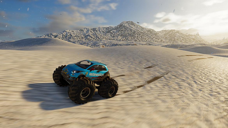 test the crew 2 - désert gelé