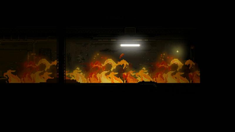 STAY - Couloir en flamme