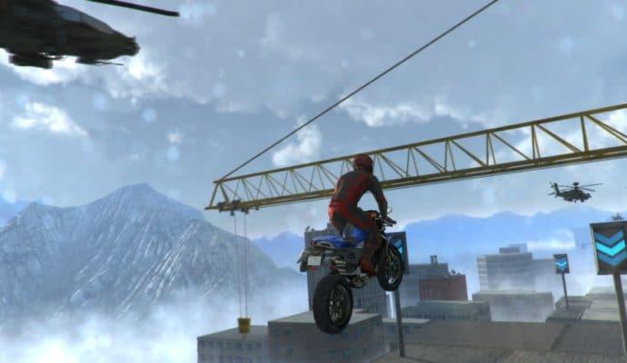 road redemption: saut en moto
