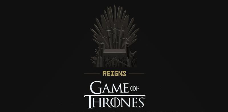 Reigns: Game of Thrones écran titre