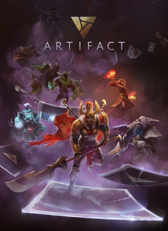Artifact : jeu de cartes montrant les dfférent personnages du titre