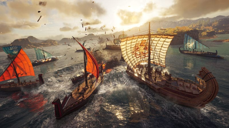 Assassin's Creed Odyssey Navire bataille navale