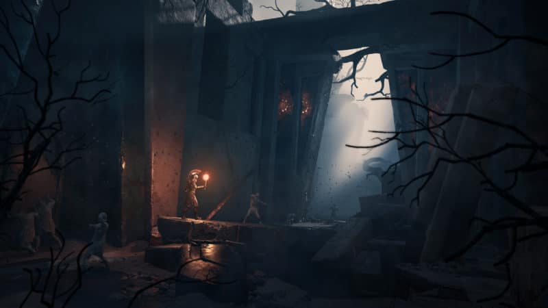 Assassin's Creed Odyssey caverne entrée temple