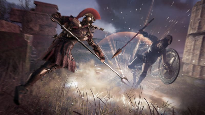 Assassin's Creed Odyssey combat magie