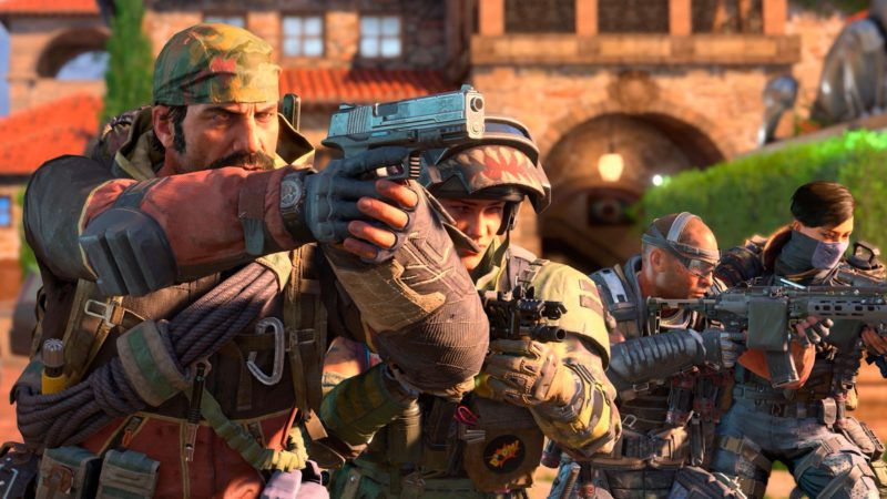 Call of Duty: Black Ops 4 - equipe