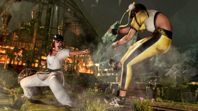 Dead or Alive 6 Combat Hitomi vs Leifang