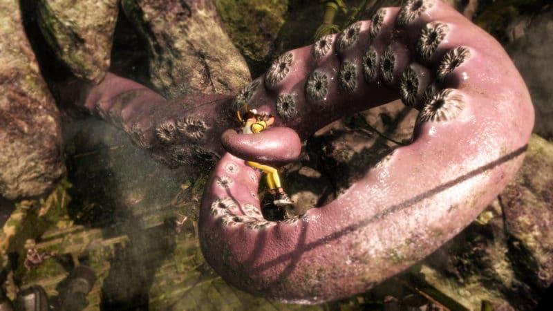 Dead or Alive 6 Leifang prise par le tentacule