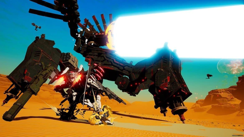 Daemon X Machina - affrontement boss