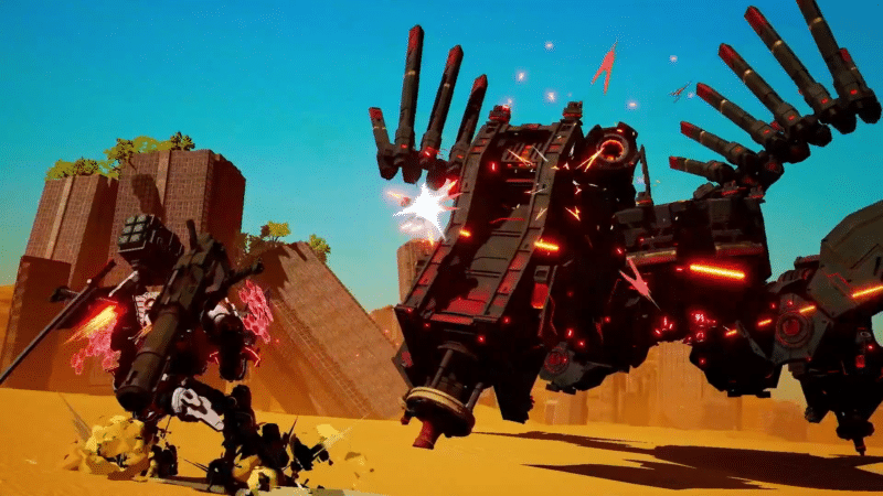 Daemon X Machina - combat rapproché
