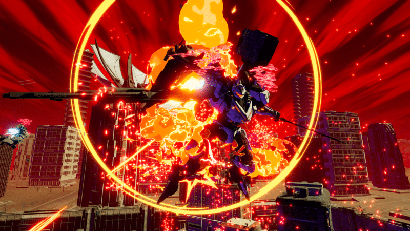 Daemon X Machina - ennemie éliminé