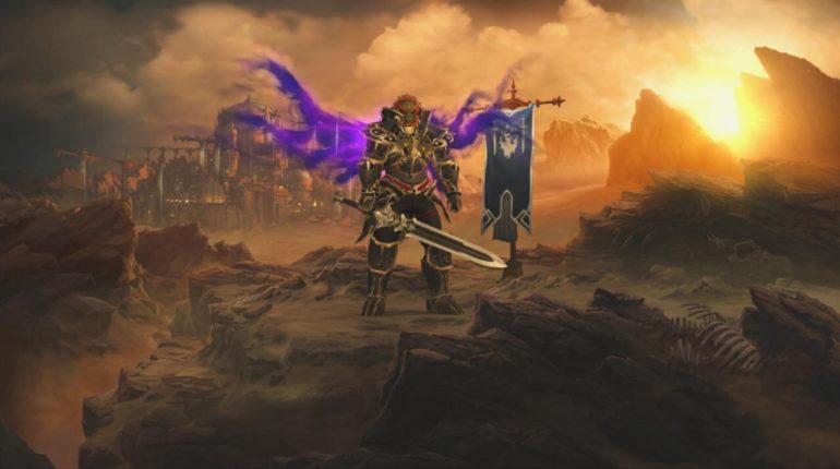 Diablo III: Eternal Collection - Barbarian Ganondorf