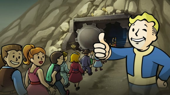 Fallout Shelter people incoming