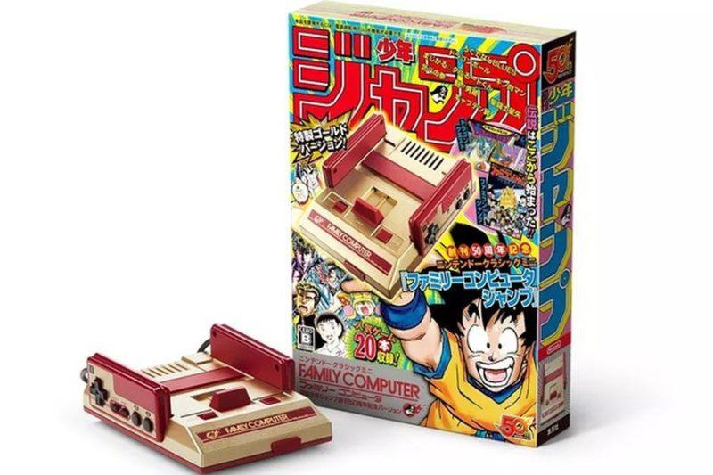 Mini Famicom Classic - Shônen Jump 50th Anniversary - photo promotionnelle