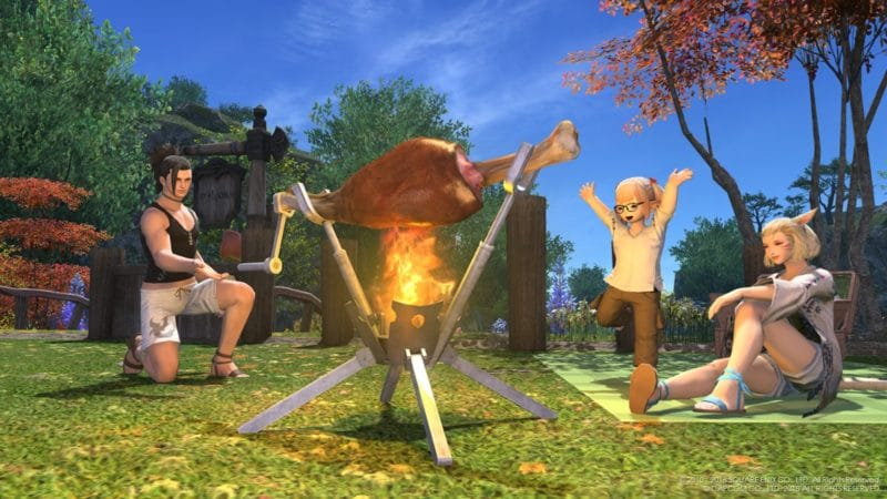 Final Fantasy XIV - Broche BBQ