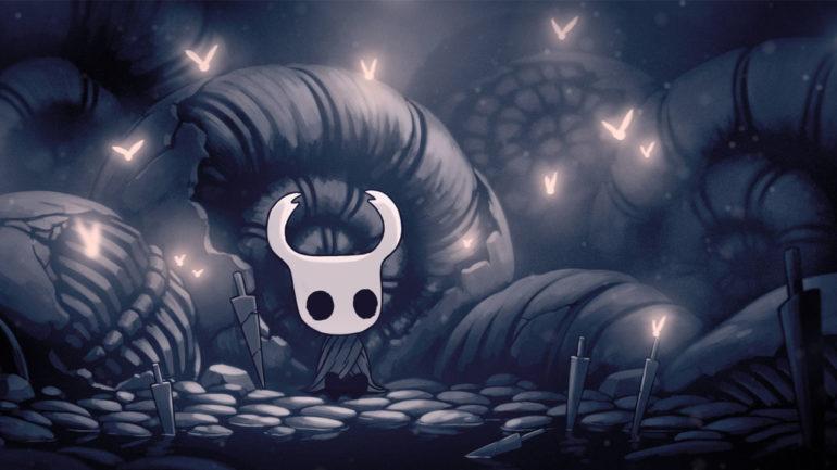 Hollow Knight - adossé contre les escargots