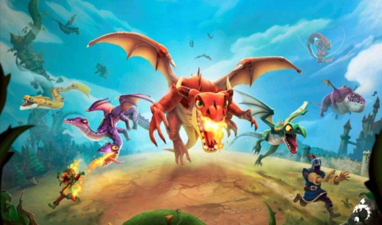 Hungry Dragon dragons variés