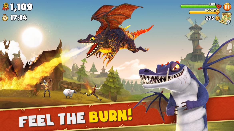 Hungry Dragon burn baby burn