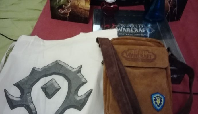 World of warcraft battle for azeroth cadeaux