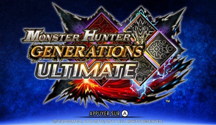 Monster Hunter Generations Ultimate - Ecran titre