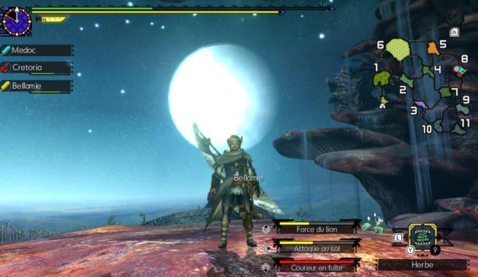 Monster Hunter Generations Ultimate - Chasseur au clair de lune