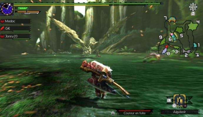 Monster Hunter Generations Ultimate - La Rathian hurle