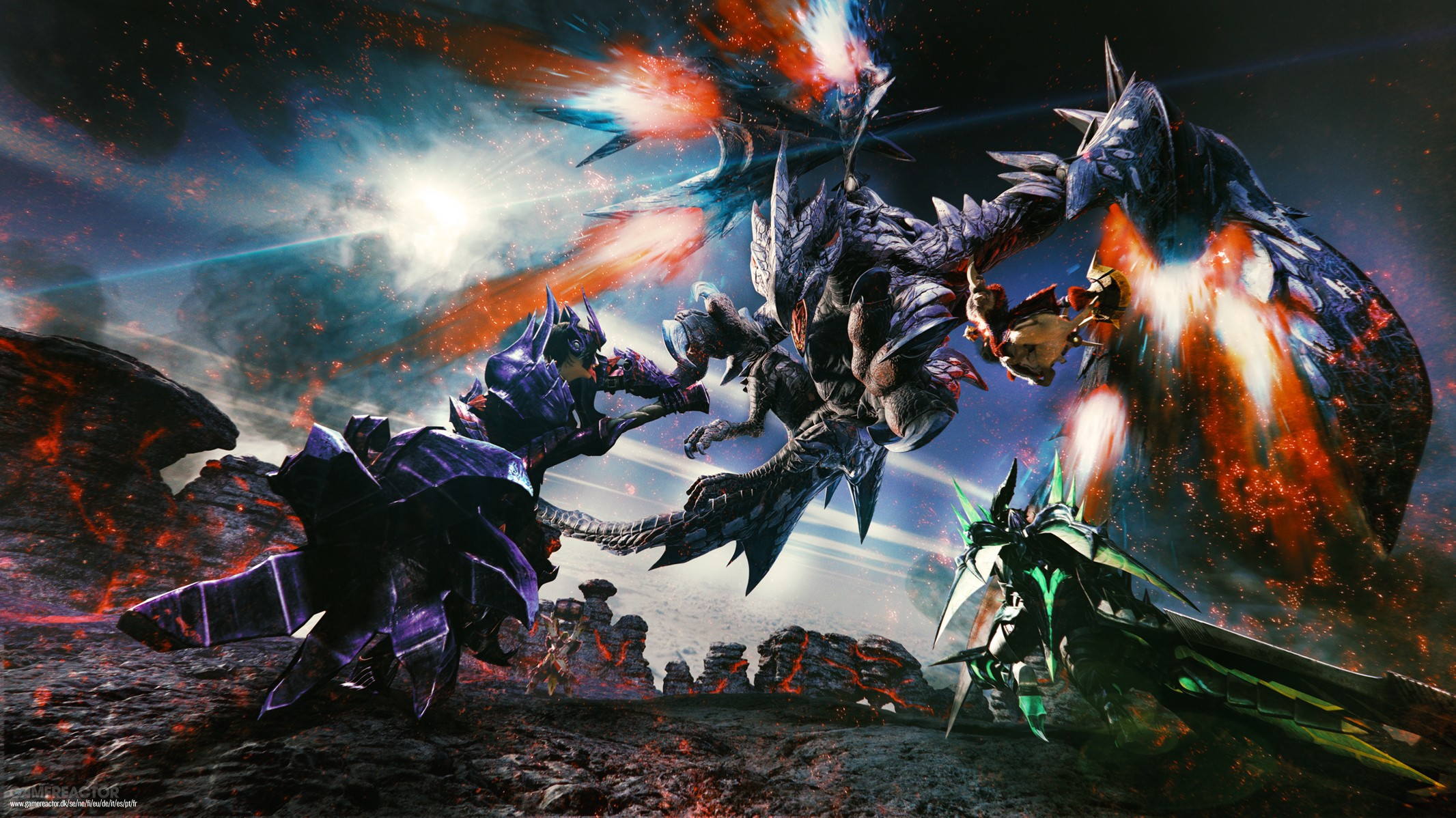 Monster Hunter Generations Ultimate - Chasseur contre le Valstrax