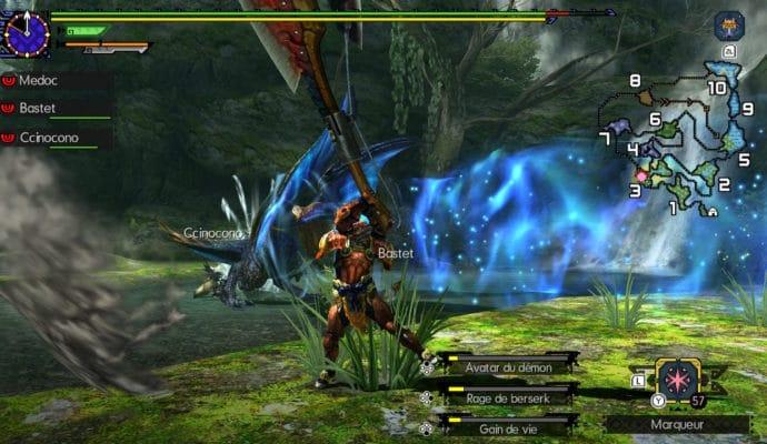 Monster Hunter Generations Ultimate - Attaque du Malfesios