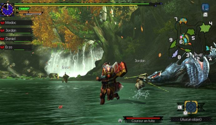 Monster Hunter Generations Ultimate - Le Nargacuga