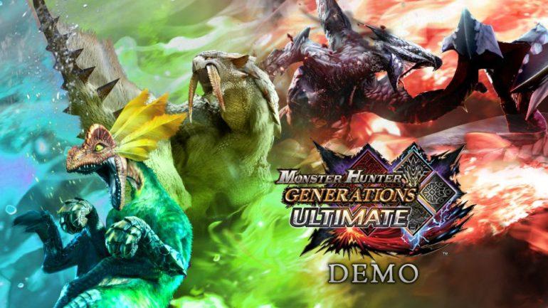 Monster Hunter Generations Ultimate Démo