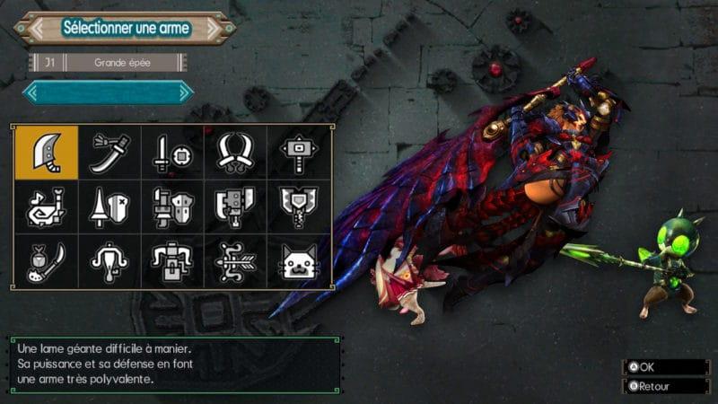 Monster Hunter Generations Ultimate - chasseur épée