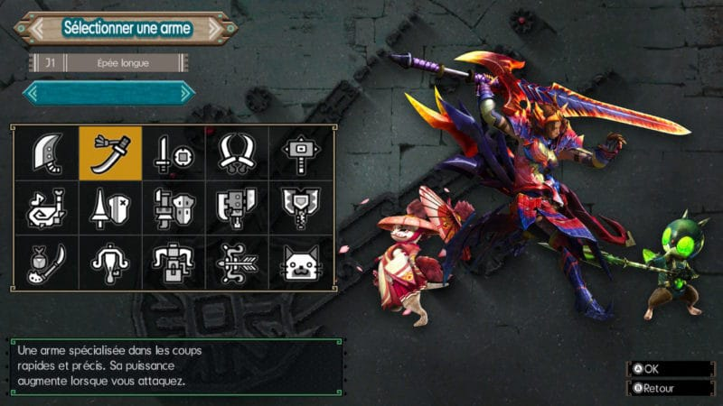Monster Hunter Generations Ultimate - chasseur katana