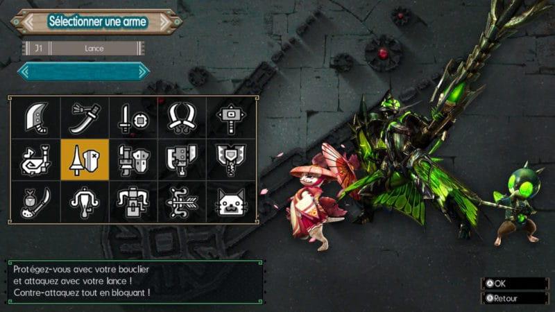 Monster Hunter Generations Ultimate - chasseur lance