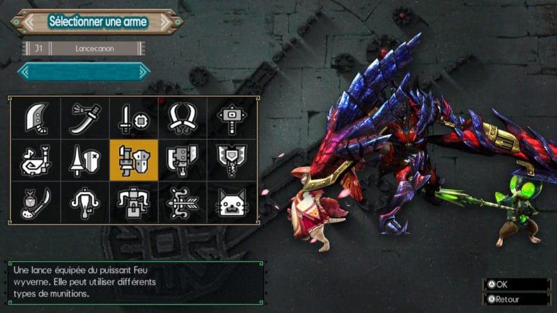Monster Hunter Generations Ultimate - chasseur lanceflingue