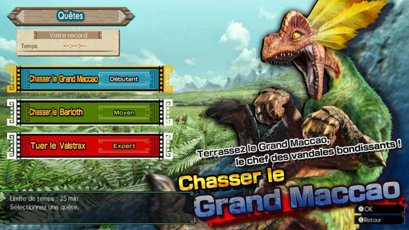 Monster Hunter Generations Ultimate - grand Maccao