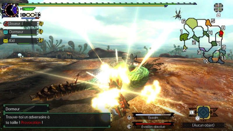 Monster Hunter Generations Ultimate - tabassage de grand maccao