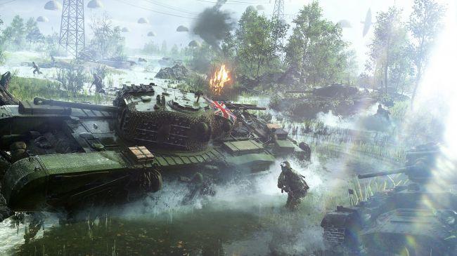 battlefield 5: char anglais