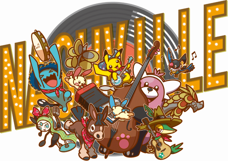 Pokémon Nashville convention logo