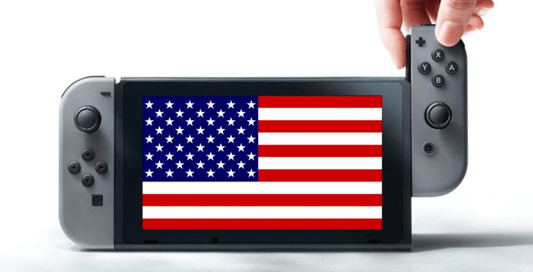 Nintendo Switch - ventes USA
