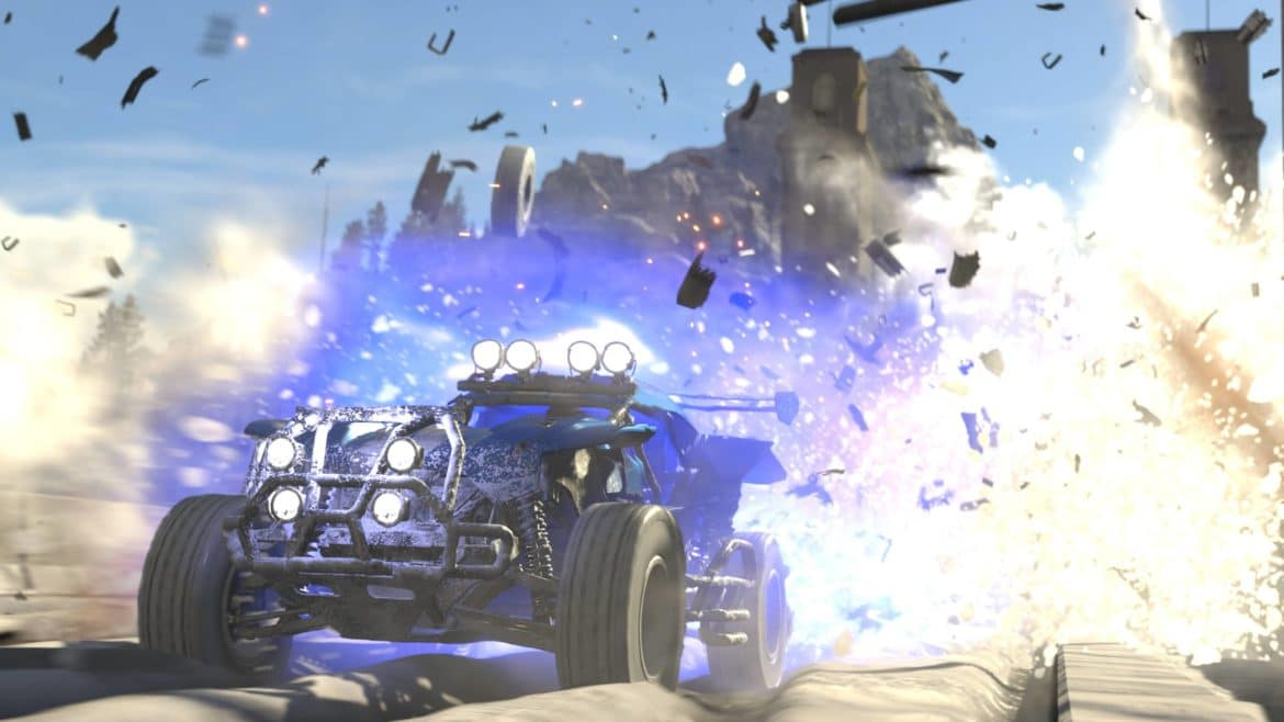 Onrush buggy explosion destruction
