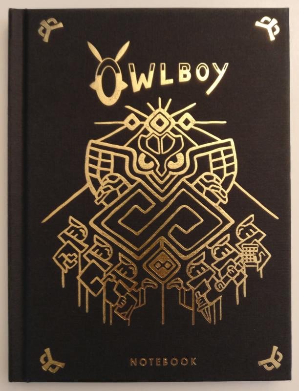 Owlboy Limited Edition - agenda
