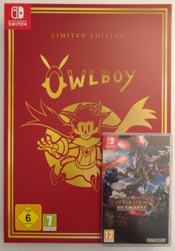 Owlboy Limited Edition - couverture collector comparée