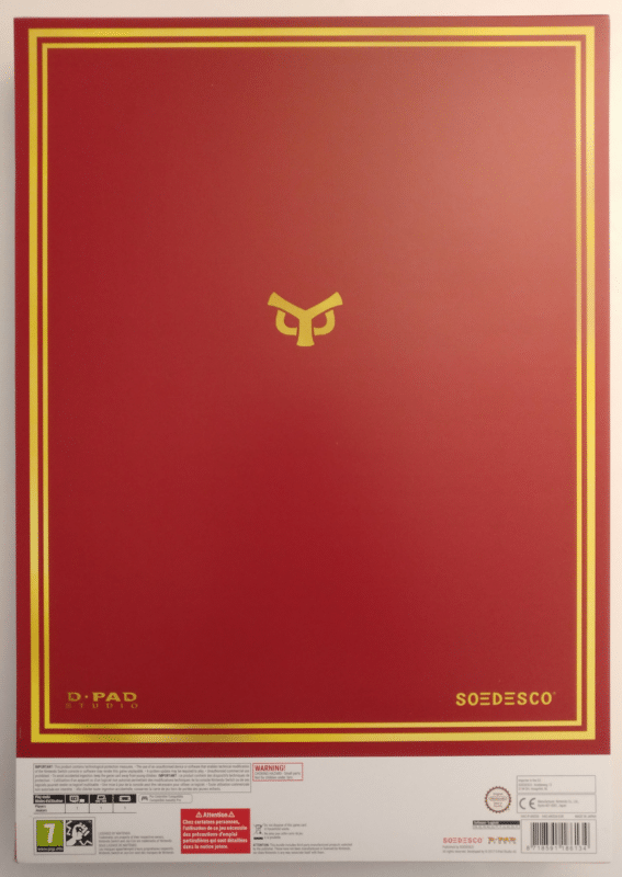 Owlboy Limited Edition - couverture collector verso
