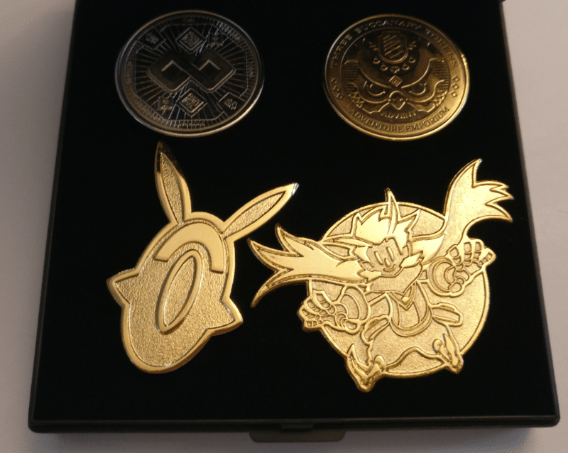 Owlboy Limited Edition - pins et pièces